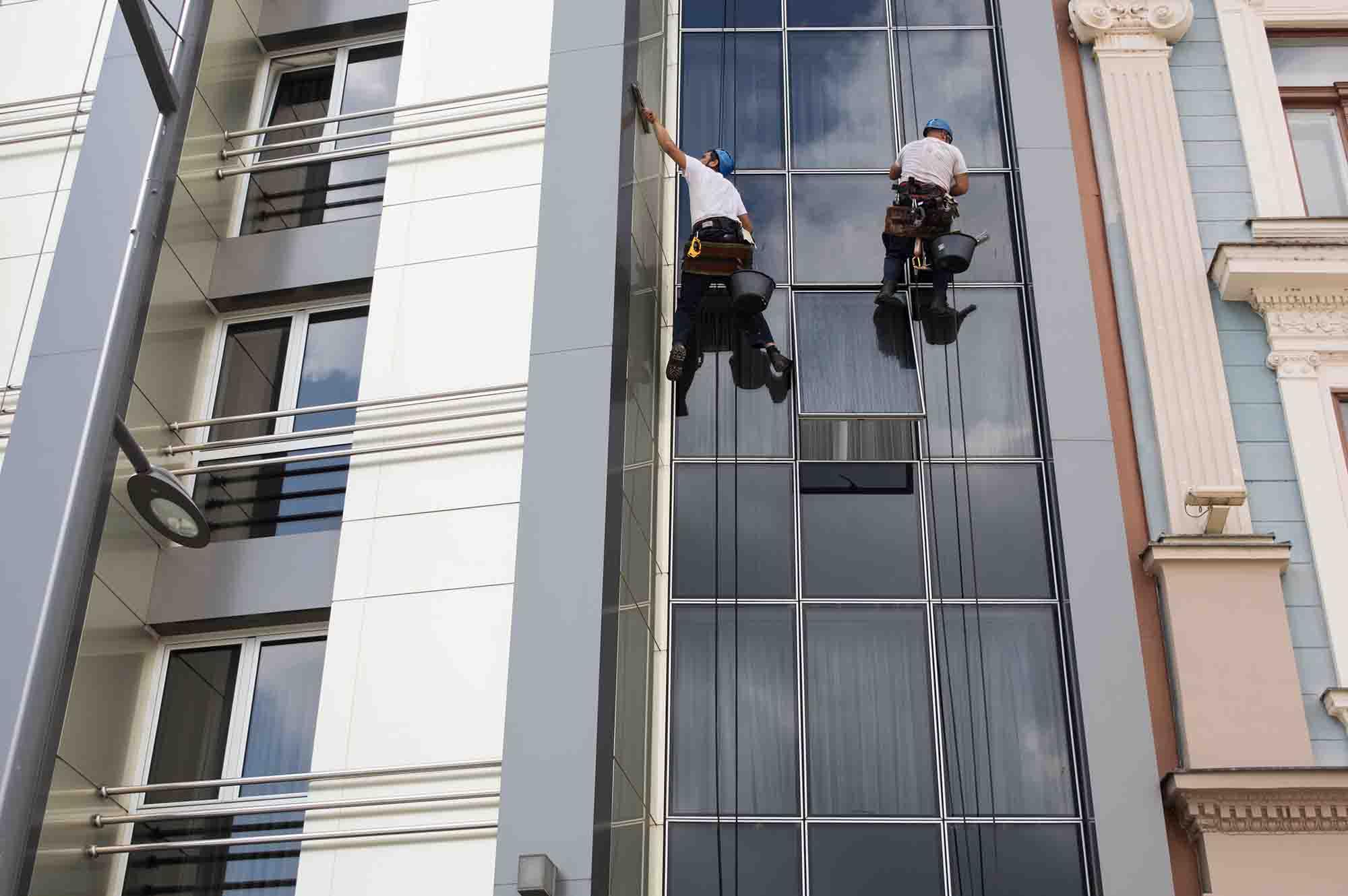 Tilger Service GmbH Gebäudereinigung Fassadenreinigung