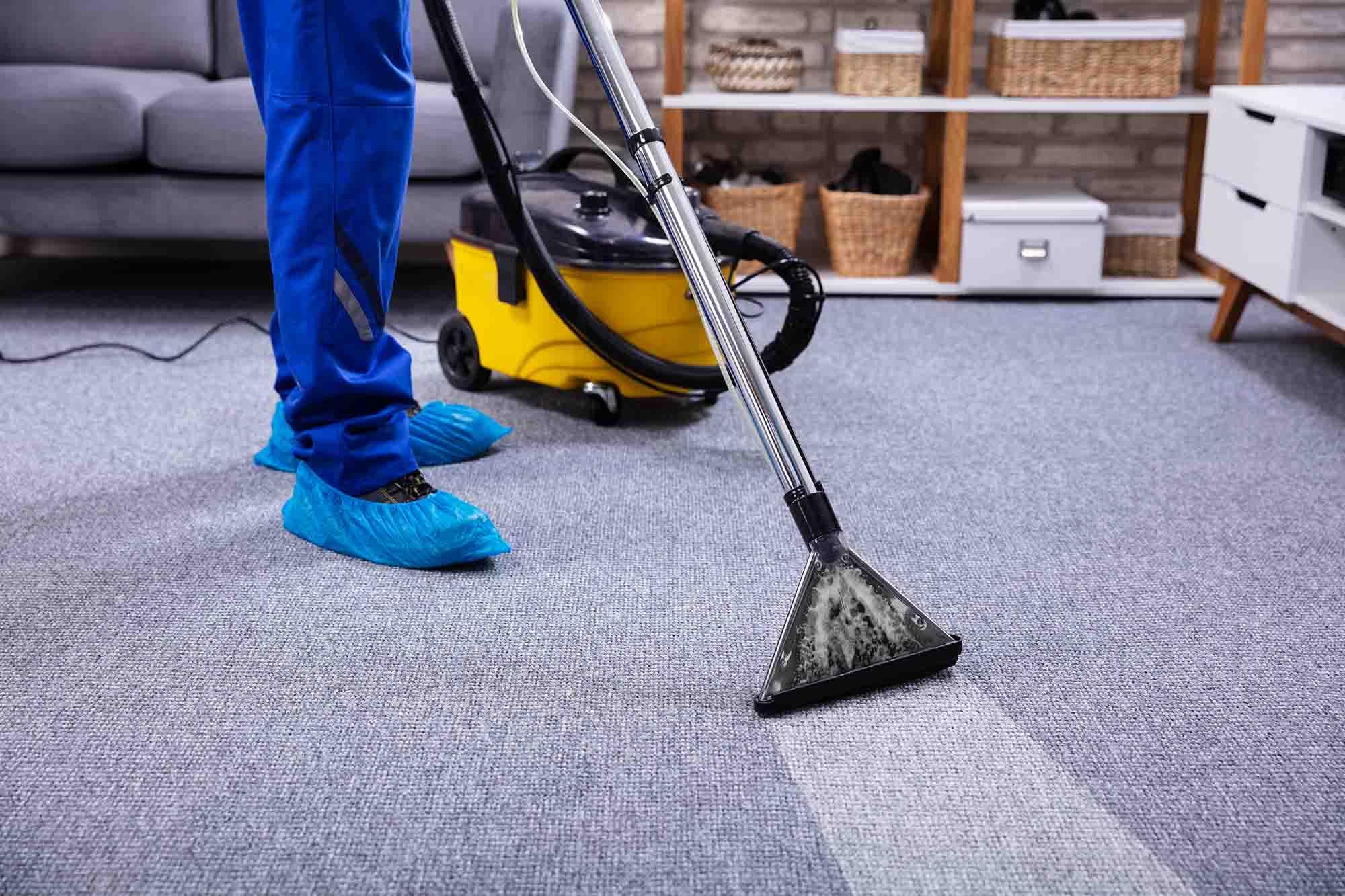 Tilger Service GmbH Gebäudereinigung Teppichboden Reinigung
